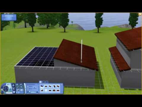 sims 3 diferent roof slopes 1 house diff rentes inclinaisons de toiture une m me maison. Black Bedroom Furniture Sets. Home Design Ideas