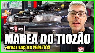 Fiat Marea do Tiozão - Novidades e Atualizações de TODOS OS PROJETOS (24 Horas Dentro da Oficina)