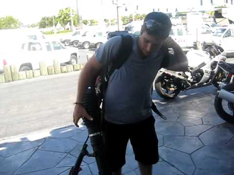 2008 Husqvarna 180BT Back Pack Leaf Blower......ANIMAL!!!!!