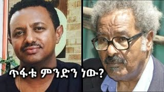 What is the mistake of Teddy Afro? Professor Mesfin Wondemariam