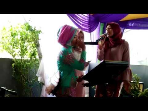 Jatuh hati Raisa cover organ tunggal pernikahan di Jakarta