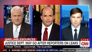 JUSTICE DEPT May Try To Jail Reporters On Leaks (Reliable Sources)