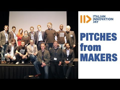 Pitches from  Makers - Italian Innovation Day 2014