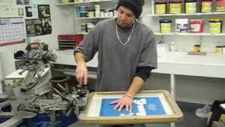 How To Screen Print Custom T-Shirts - Part 1