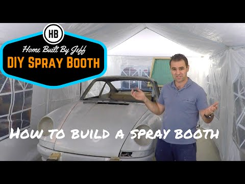How to build a spray booth - part 1
