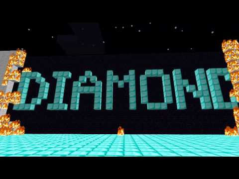 """Diamond"" - Minecraft parody of Rebecca Black's ""Friday"""