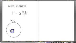 高校物理解説講義:「万有引力のもとでの運動」講義7