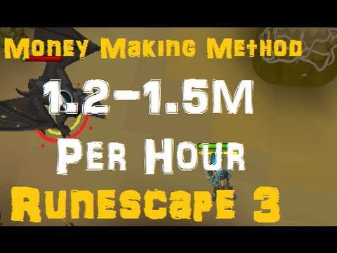 1.2-1.5M Money Making Method – Easy and Fast – RS3 Runescape