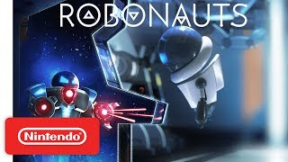 Robonauts Arcade Machine Trailer - Nintendo Switch