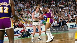 14.02.1988. – Celtics@Lakers: Byron Scott Career-High 38 Points, Magic vs Bird, 80's Classic