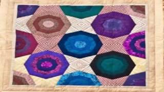 kaleidoscope of color quilt pattern easy quilting blocks
