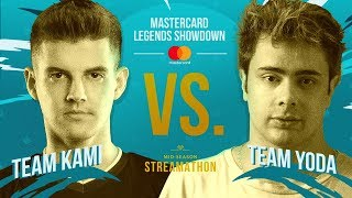Mastercard Legends Showdown: Team Kami x Team YoDa