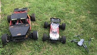 DIY RACETRACK: MAVIC PRO VS. LOSI 5IVE RC-CAR