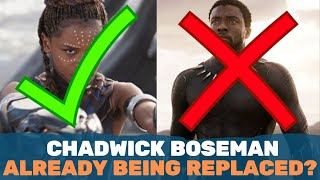 Black Panther Chaos! Replaced By Female & Chadwick Boseman Is ANGRY?!