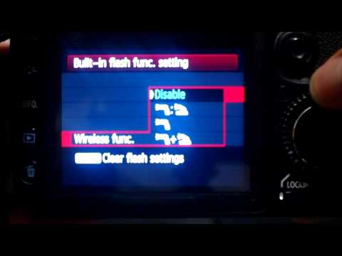 How to Set Up Wireless Flash on a Canon 7D