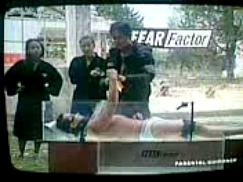 RJ bacon brief in pinoy fear factor