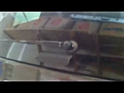 How to replace a 2007 Ford Explorer rear windshield wiper motor
