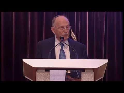 Mark Leibler welcomes Israeli PM Binyamin Netanyahu