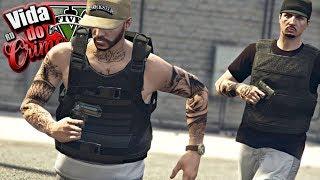 GTA V : VIDA DO CRIME : SALVE-SE QUEM PUDER! O ATAQUE SURPRESA DA POLICIA NA FAVELA! : EP. 52