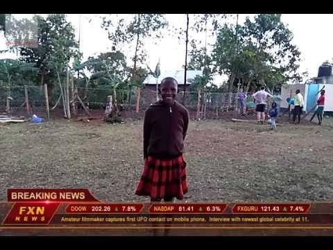 BREAKING NEWS at Ulamba Children's Home, Kenya