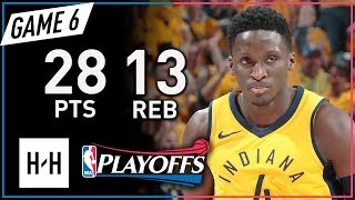 Victor Oladipo Triple-Double Game 6 Highlights vs Cavaliers 2018 Playoffs - 28 Pts, 13 Reb, 10 Ast