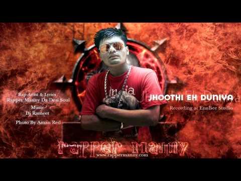 Jhoothi Eh Duniya-Rapper Manny Da Desi Soul (Audio) Punjabi...