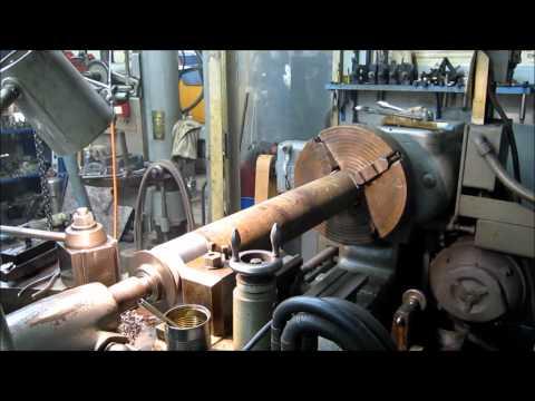 Oshkosh rear axle tube Part 1