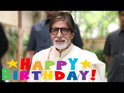 Amitabh Bachchan Interacts With The Media On His Birthday