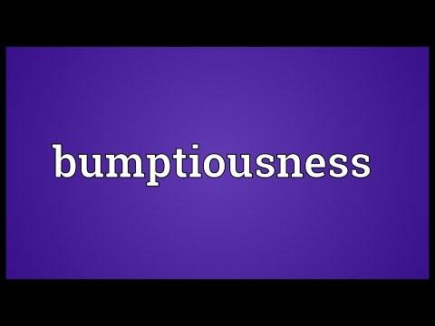 Header of bumptiousness