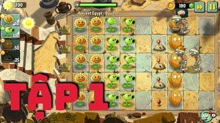 Game Vui Cho Bé Xem Tập 1: Bé trồng cây chống lại Zombies (Phần 1)