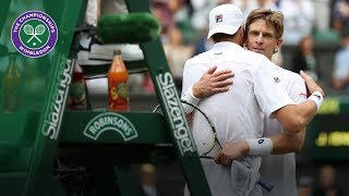 John Isner vs Kevin Anderson SF Highlights   Wimbledon 2018