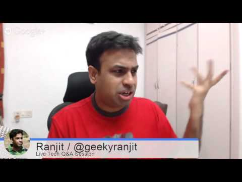 #36 Live Tech Q&A Session with Geekyranjit