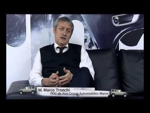 Entretien avec M. Marco Tronchi, PDG de Fiat Group Automobiles Maroc