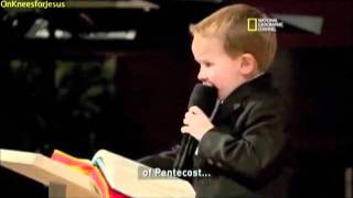The world's youngest preacher backmasking