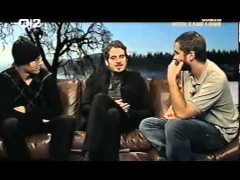 Zane Lowe interviews Interpol on Gonzo 2007