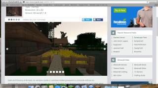 how to download a resource pack/ texture pack