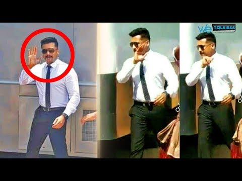 Suriya's new look leaked from shooting spot of Suriya 37 | KV Anand