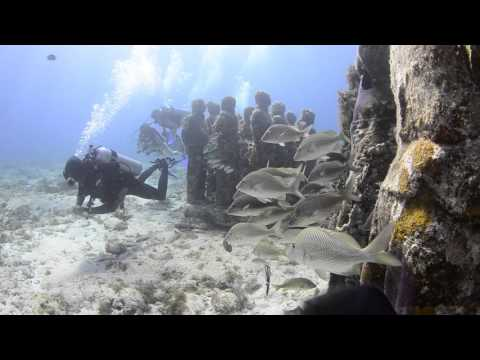 Diving The Underwater Museum Canun, Mexico