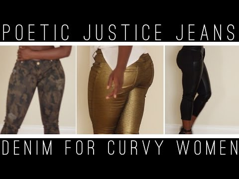 Poetic Justice LookBook | Denim for CURVES