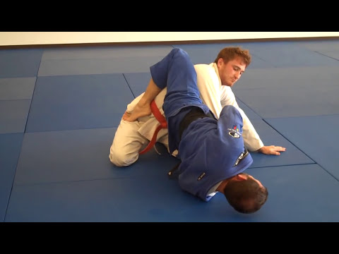 BJJ closed guard attacks - off balancing to armbar and triangle Image 1