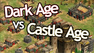 Dark Age... vs Castle Age!?