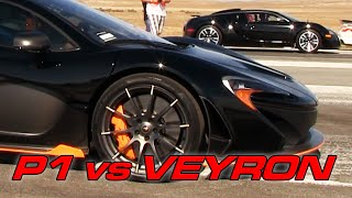 Bugatti Veyron vs McLaren P1