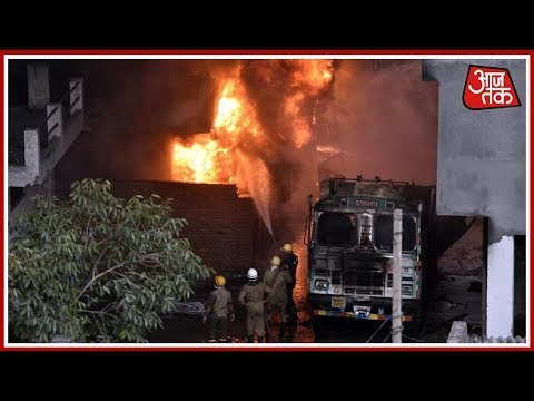 Massive Fire In A Rubber Godown At Delhi's Malviya Nagar; 30 Fire Engines On Scene