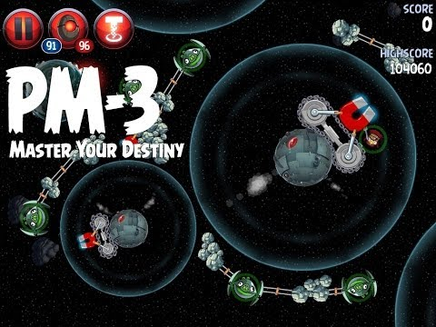 Angry Birds Star Wars 2 Level PM-3 Master Your Destiny 3 Star Walkthrough