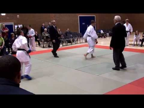 JOEL BARKER - KLEIN FSK NATIONALS 2012 UNDER 16 OVER 5ft  KUMITE