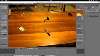 Track Motion con Cinelerra e Camera Tracking con Blender
