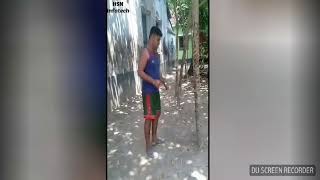Best Bangla Funny Video Fight With Tree