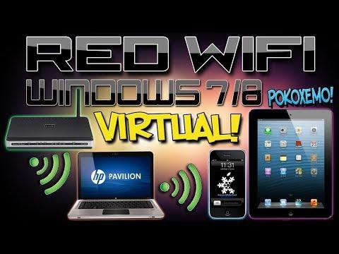 Como Crear una Red WiFi Virtual en Windows 7/8 [Comparte Internet por Wifi desde tu Pc o Laptop]
