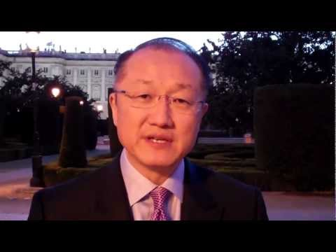 World Bank Group President Jim Kim: Targets will help fight against poverty