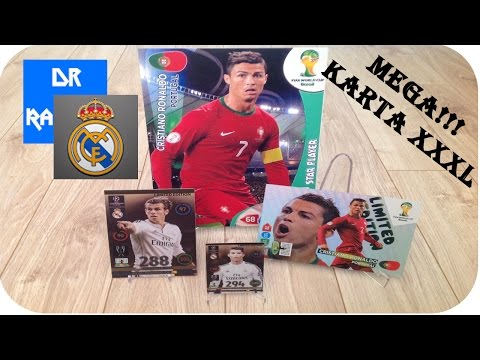 Megaaa Karta Xxxl Cristiano Ronaldo - Epic! + Niespodzianka Od Patrykrealmadryt video